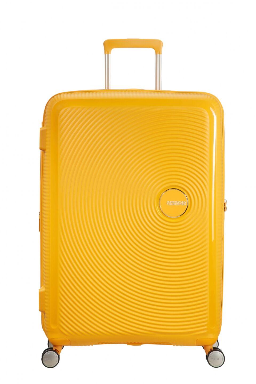 American Tourister Soundbox 77cm - Iso Keltainen, Matkalaukut