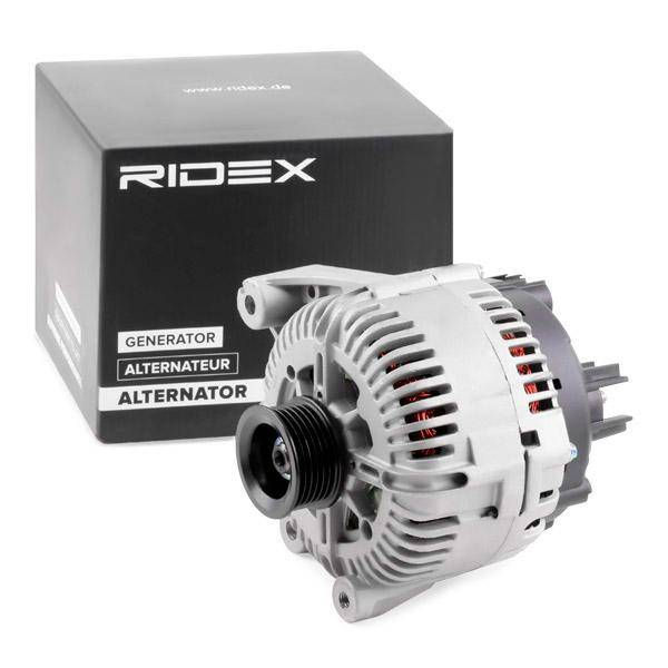 RIDEX Laturi 4G0087 Generaattori BMW,3 E90,5 E60,5 Touring E61,3 Coupe E92,3 Cabriolet E93,7 E65, E66, E67,6 E63,6 Cabriolet E64,6 Gran Coupe F06