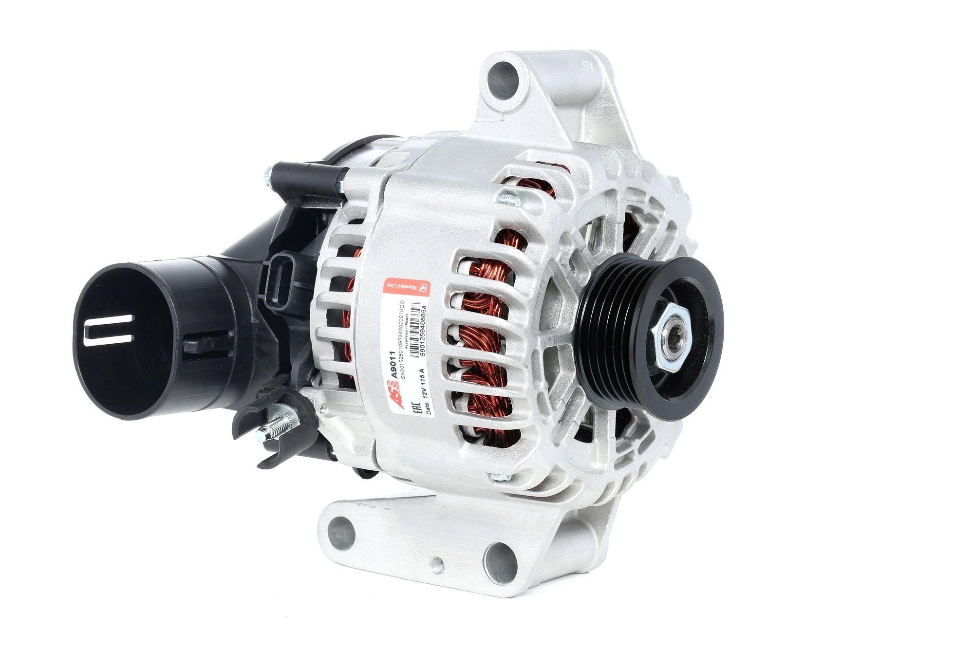 AS-PL Laturi Brand new AS-PL Alternator freewheel pulley A9011 Generaattori FORD,JAGUAR,MONDEO III Kombi BWY,FOCUS II DA_,MONDEO III B5Y