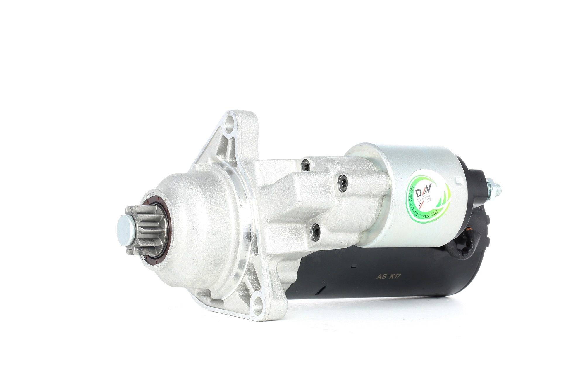 AS-PL Starttimoottori Brand new AS-PL Starter motor MT72AB S0005 Startti,Käynnistinmoottori VW,SEAT,TRANSPORTER IV Bus 70XB, 70XC, 7DB, 7DW
