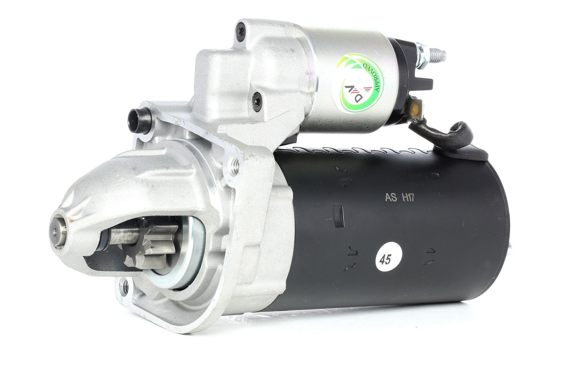AS-PL Starttimoottori Brand new AS-PL Starter motor 0001223003 S0159 Startti,Käynnistinmoottori FIAT,PEUGEOT,CITROËN,DUCATO Kasten 250