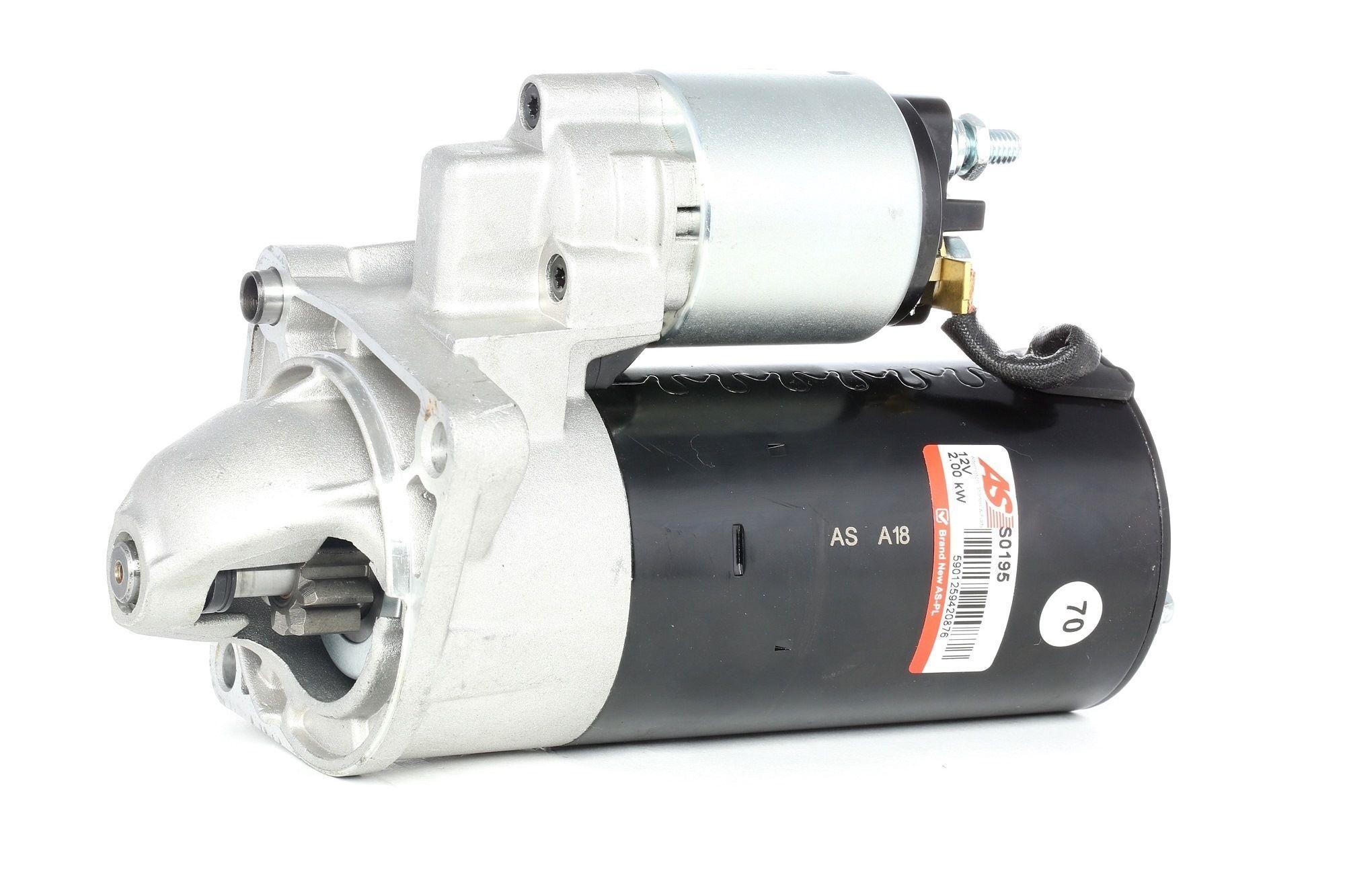AS-PL Starttimoottori Brand new AS-PL Starter motor drive DISCONTINUED S0195 Startti,Käynnistinmoottori CHEVROLET,CADILLAC,SUZUKI,CRUZE J300