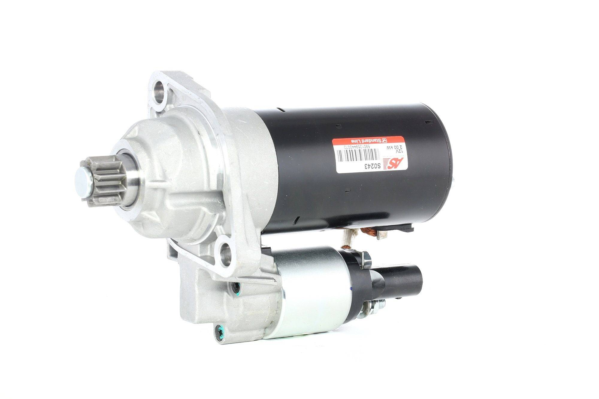 AS-PL Starttimoottori Brand new AS-PL Alternator freewheel pulley S0243 Startti,Käynnistinmoottori VW,SEAT,SKODA,GOLF V 1K1,POLO 9N_,TOURAN 1T1, 1T2