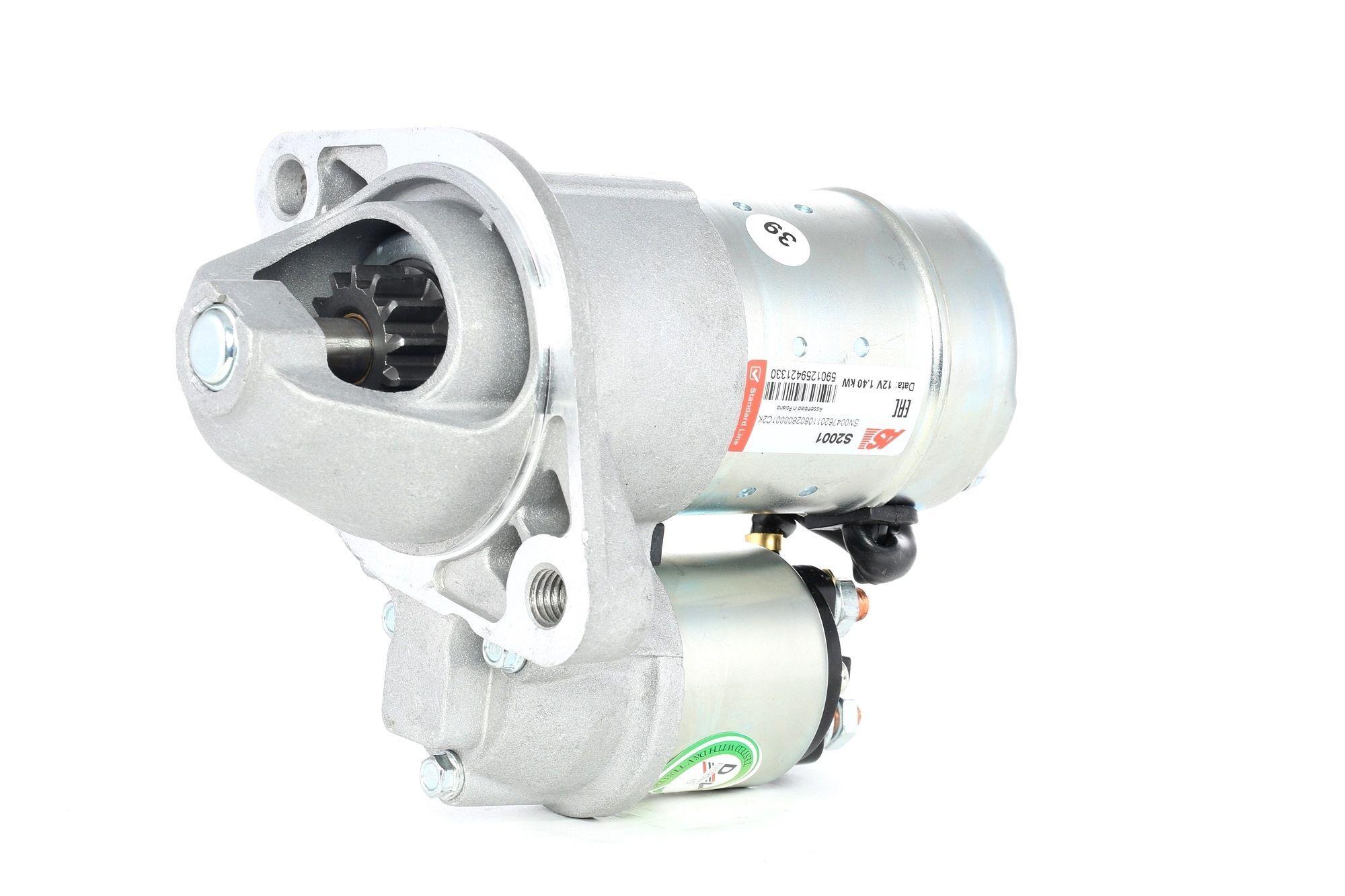AS-PL Starttimoottori Brand new AS-PL Starter motor armature S2001 Startti,Käynnistinmoottori OPEL,HONDA,CHEVROLET,CORSA D,CORSA C F08, F68