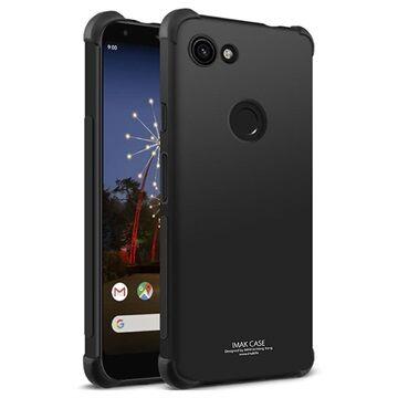 Imak Drop-Proof Google Pixel 3a XL TPU Suojakuori - Musta