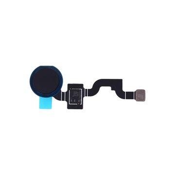 Google Pixel 3A XL Sormenjlkitunnistin Flex-Kaapeli - Musta