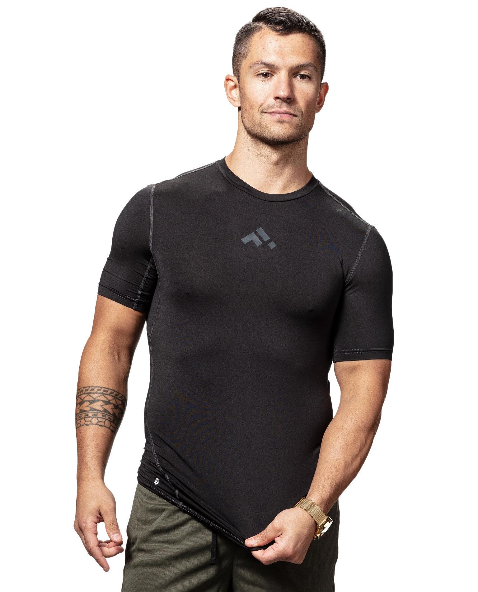 Balton Base Layer Black T-Shirt FIRST