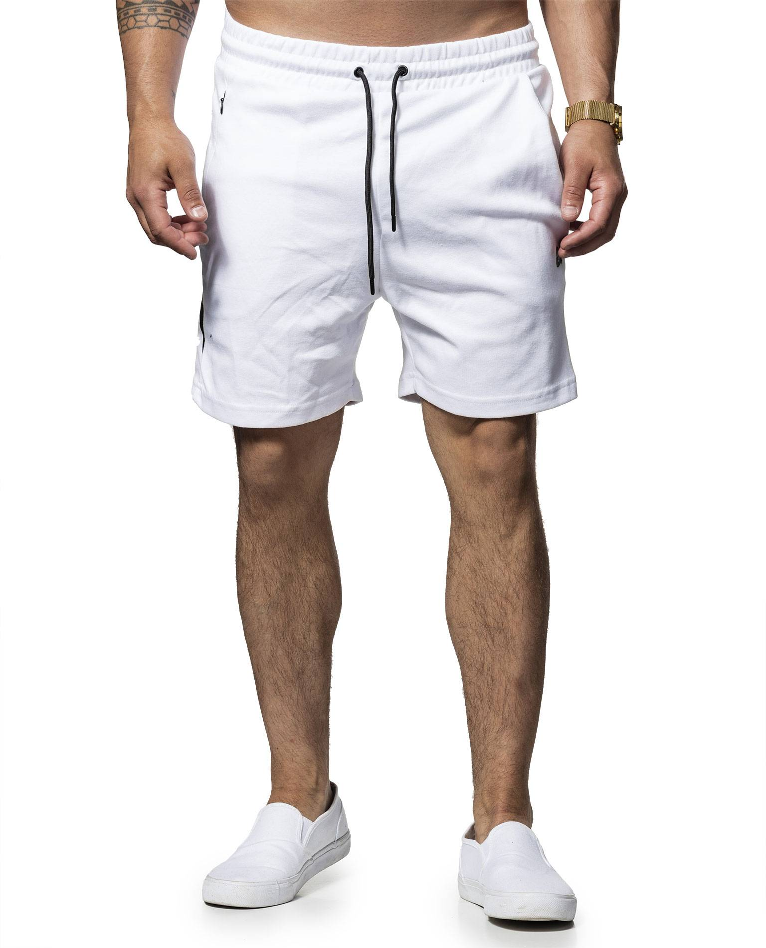 Clean Sweat Shorts White Jack & Jones