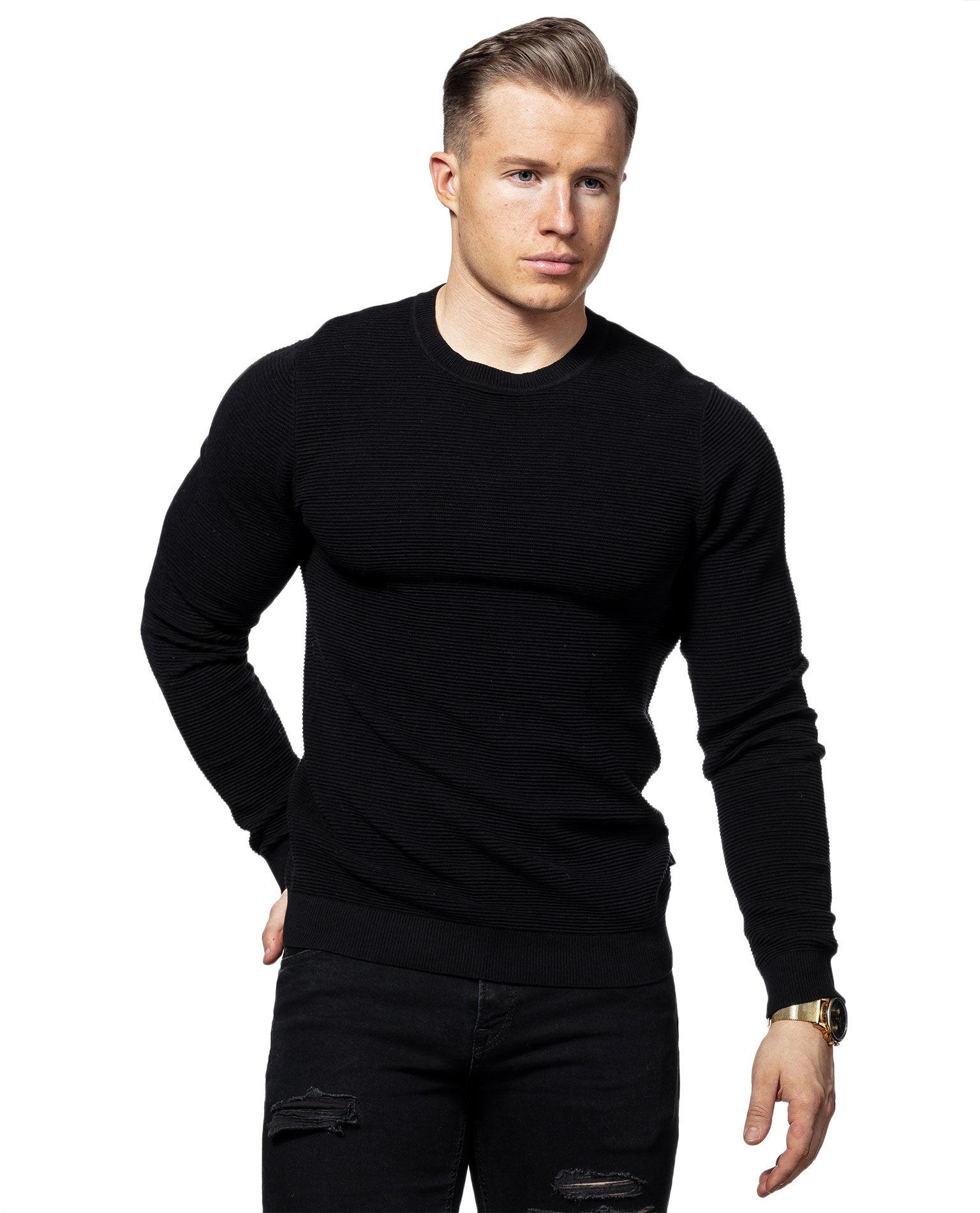 Liam Knit Black Jack & Jones
