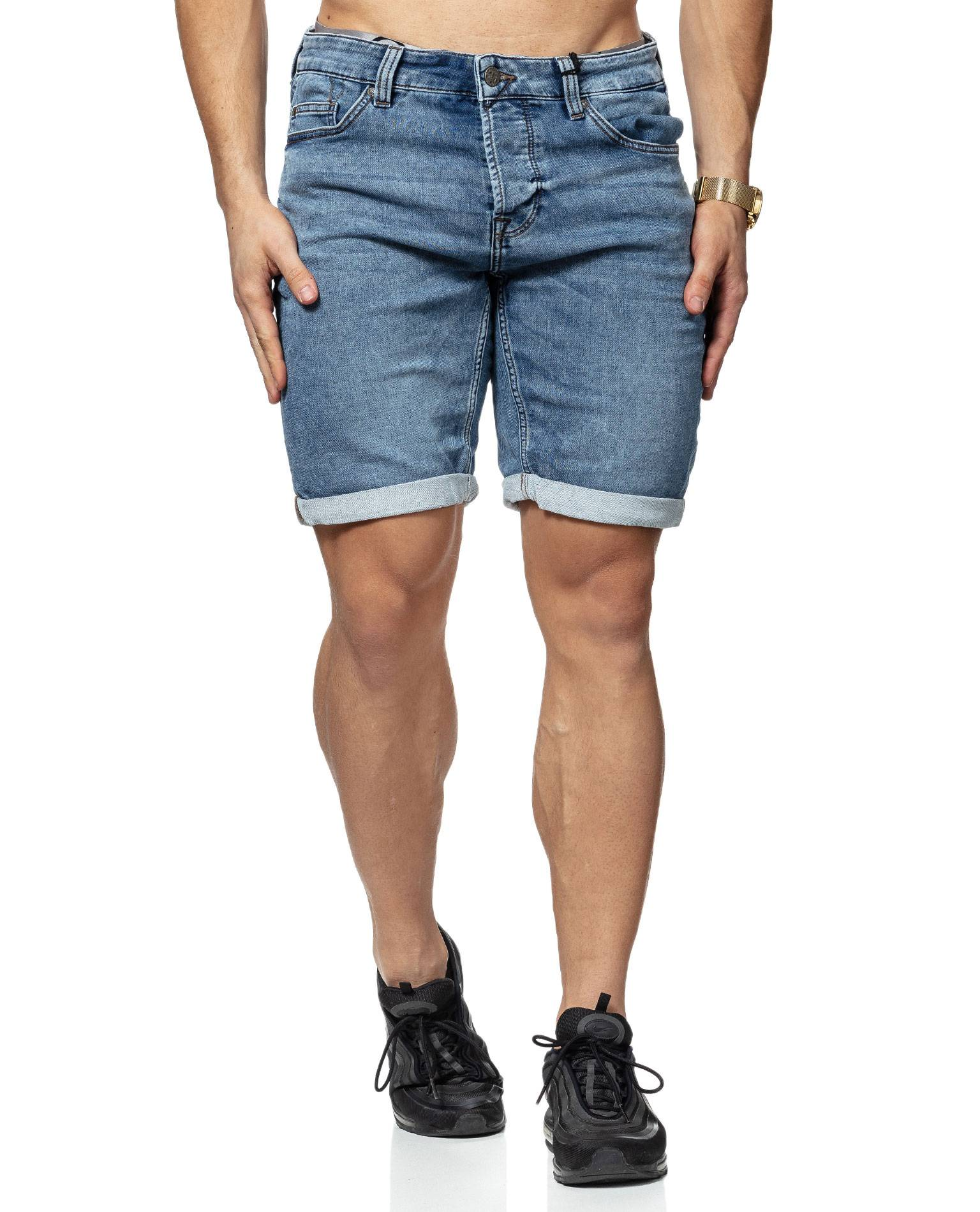 Blue Denim Shorts Only & Sons