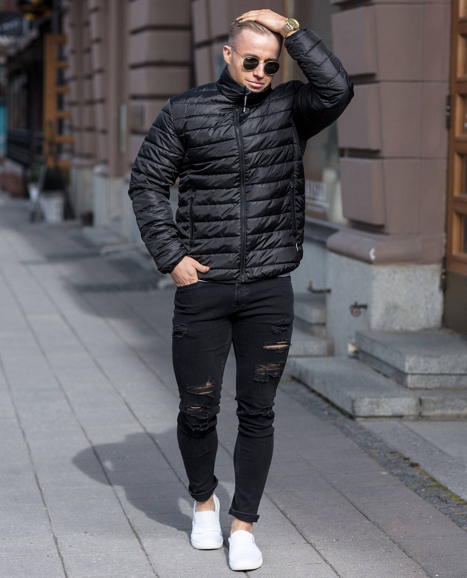 George Quilted Highneck Only & Sons