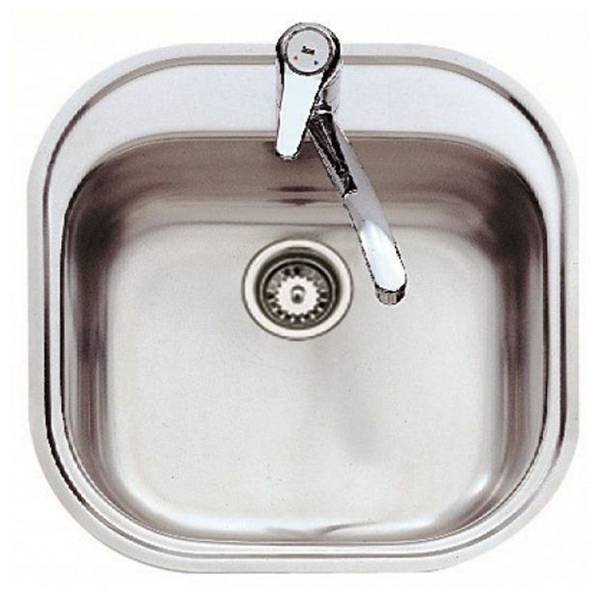 Teka Sink with One Basin Teka 7007 STYLO 1C Stainless steel