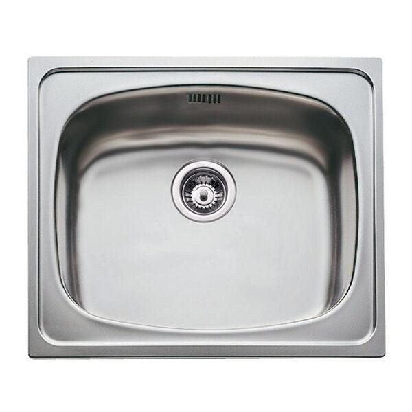 Teka Sink with One Basin Teka Stainless steel