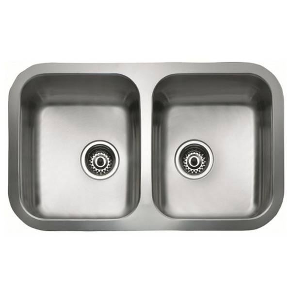 Teka Sink with Two Basins Teka BE 2C 780 Stainless steel