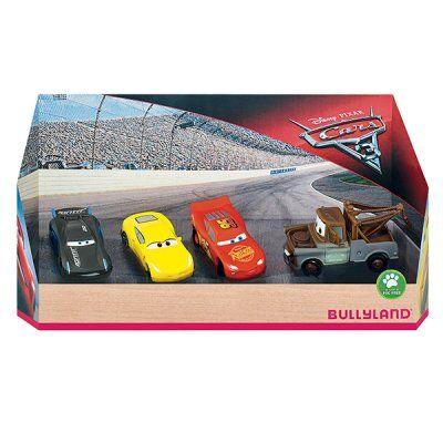 Disney Cars 4 pack Bullyland