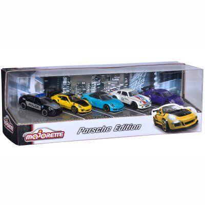 Simba Majorette Porsche Presentförpackning 5 St Bilar