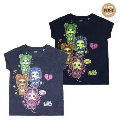 L.O.L. Surprise! LOL. Yllätys! Loistevärimallit T-paita (6 - 116 CM)
