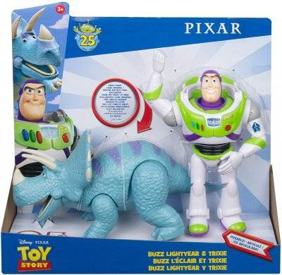 Toy Story Lelu Story 4 Buzz Lightyear kanssa Trixie