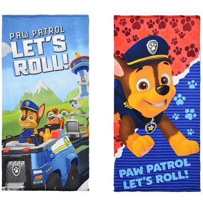 Paw Patrol pyyhe (Röd)