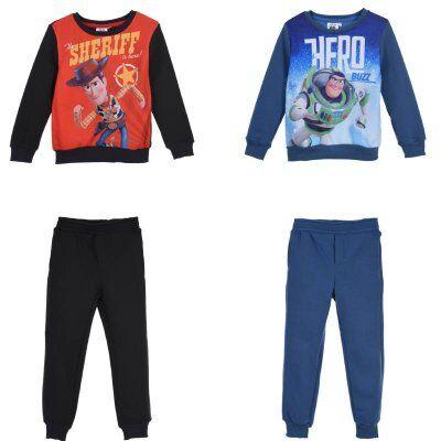 Toy Story joggingset paita ja housut (4A - 104 CM, RÖD)