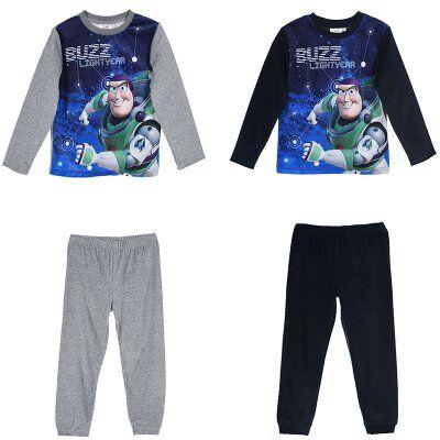 Toy Story Buzz Lightyear joggingset paita ja housut (3A - 98 CM, BLÅ)