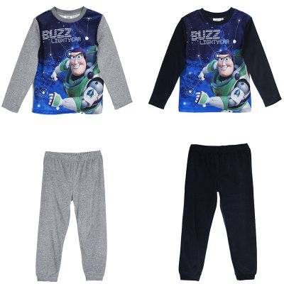 Toy Story Buzz Lightyear joggingset paita ja housut (8A - 128 CM, GRÅ)