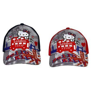 Hello Kitty Cap lapsia (Röd, 52)