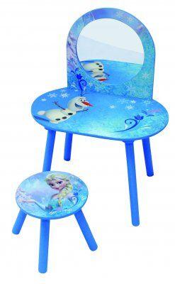 Disney Frozen 2 kastiketta pöytä ja tuoli