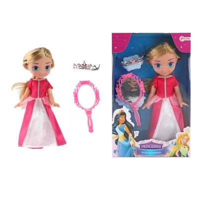 Toi-toys Prinsessa nukke peili, 28 cm