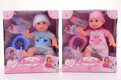 Johntoy Interaktiivinen nukke tarvikkeet - aivan kuin oikea vauva!