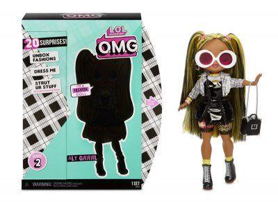 L.O.L. Surprise! LOL. Yllätys! O.M.G. Alt Grrrl nukke
