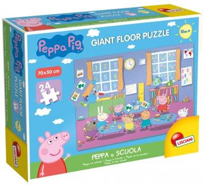 Peppa Pig Greta Gris lattia palapelin 24 kpl