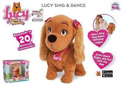 Tildas Lucy tanssia koira interaktiivinen