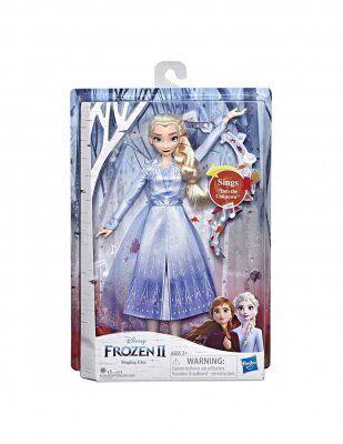 Frozen Frost 2 Elsa laulaa nukke