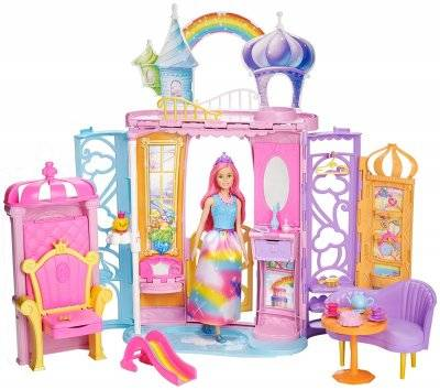 Barbie Dreamtopia linnan nukke