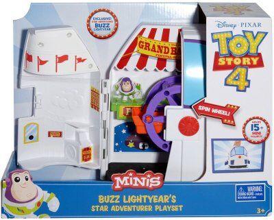 Toy Story Buzz 4 lelusettejä