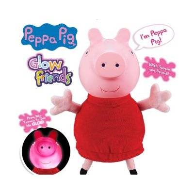 Peppa Pig Greta Gris, pimeässä pehmoleluja
