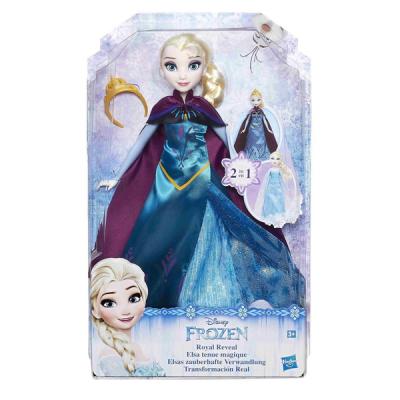 Disney Frozen Frost Royal Paljasta Elsa Dock 2in1