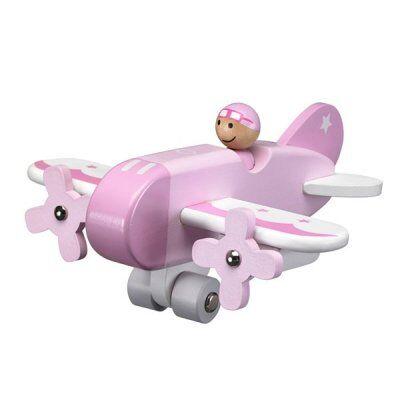 Kids concept Lapset konsepti, Lentokone, vaaleanpunainen