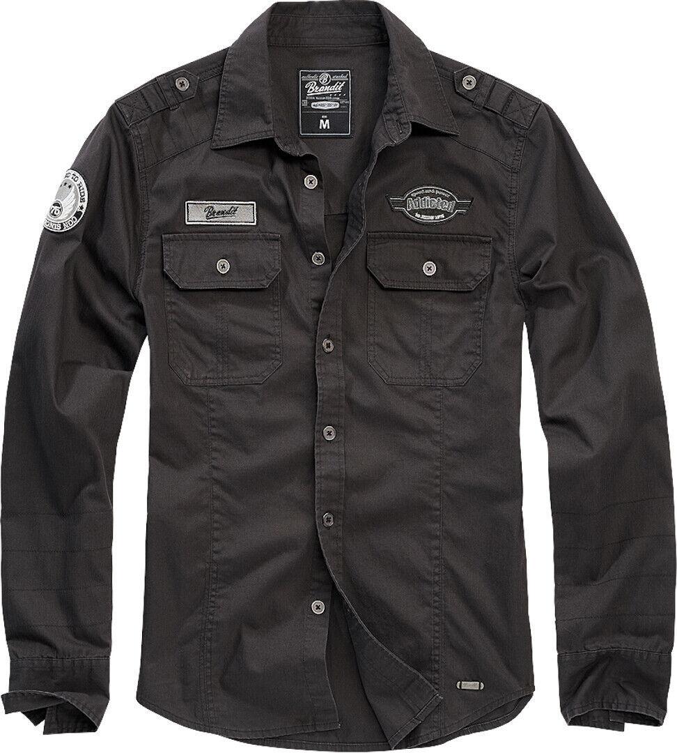 Brandit Luis Vintage Paita  - Musta - Size: M