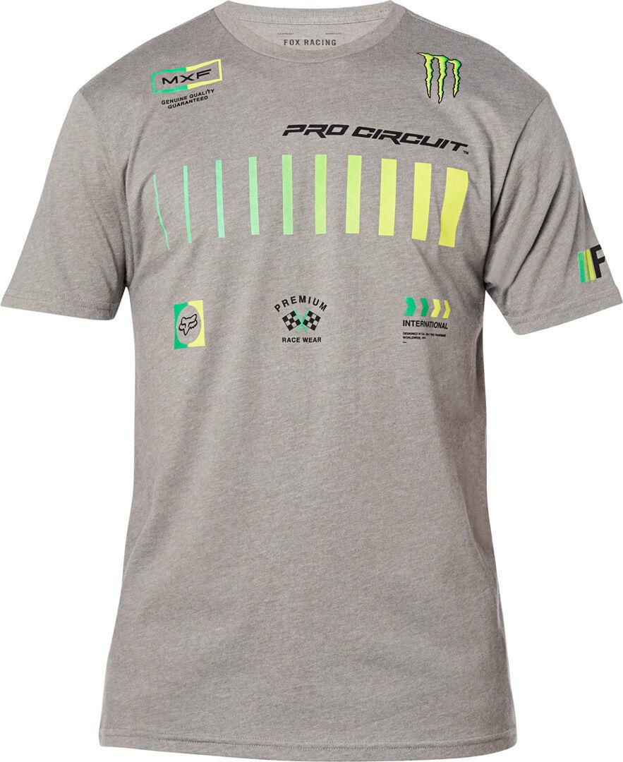 FOX Pro Circuit Premium T-paita  - Harmaa - Size: XL