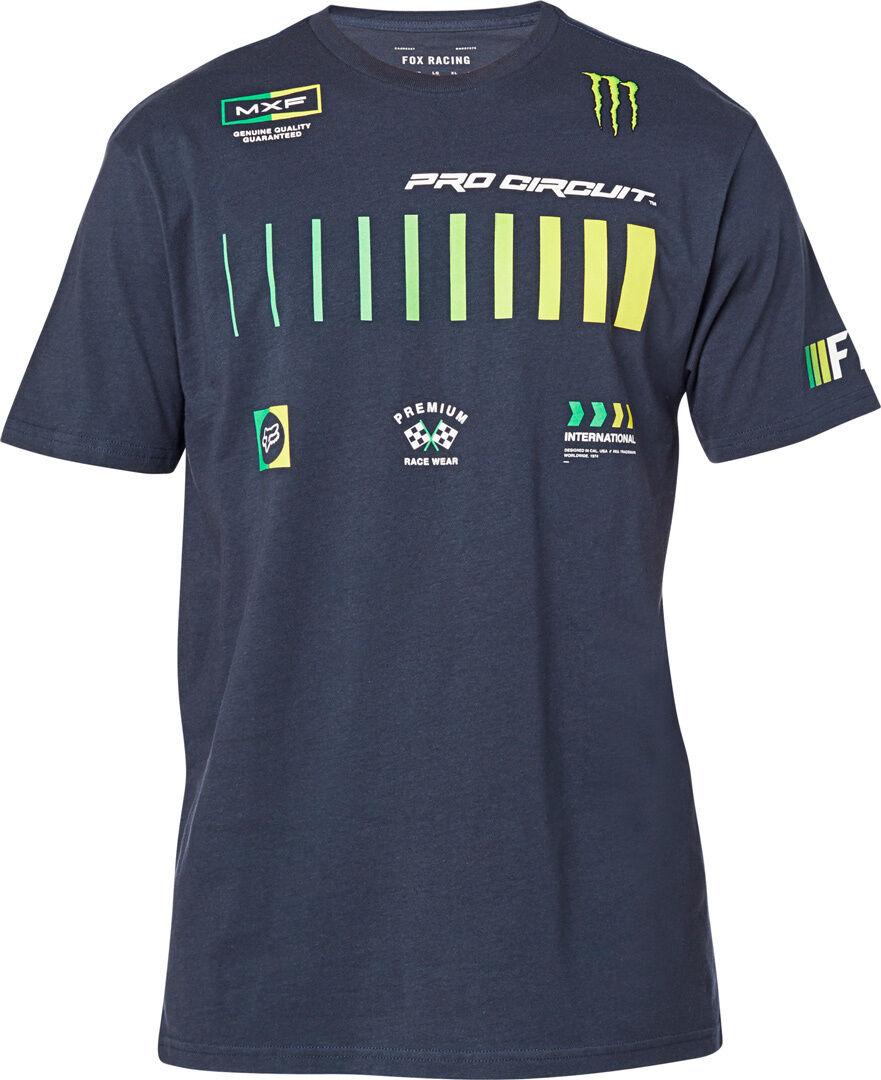 FOX Pro Circuit Premium T-paita  - Sininen - Size: XL