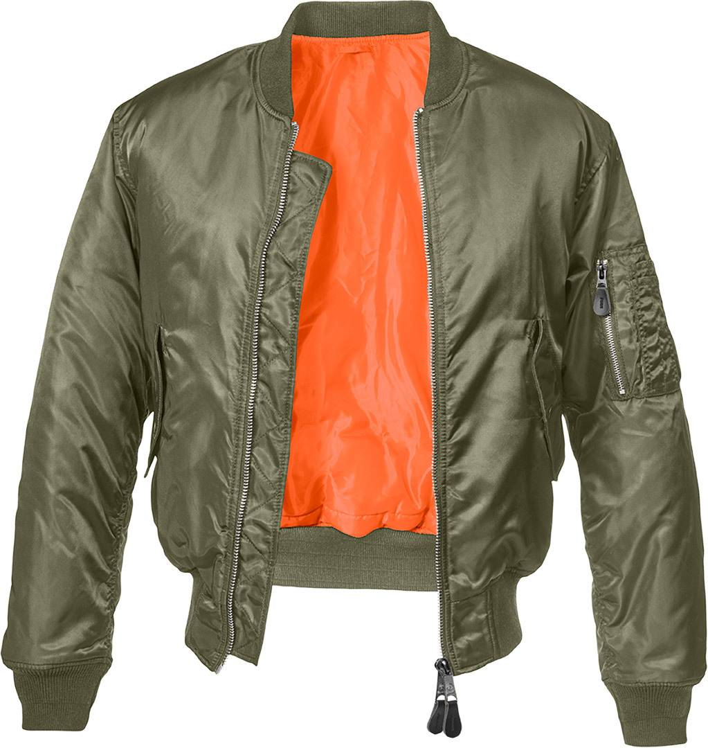 Brandit MA1 Classic Takki  - Vihreä - Size: L