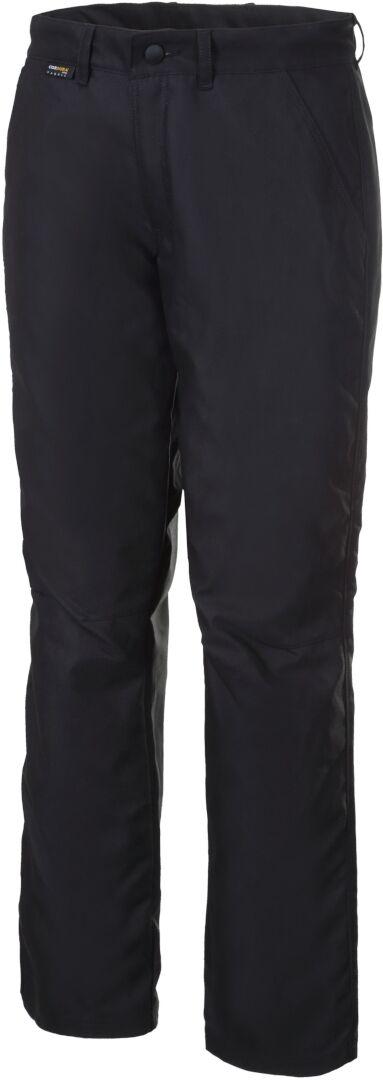 Rukka Eston Chino Moottoripyörä tekstiili housut  - Musta - Size: 34