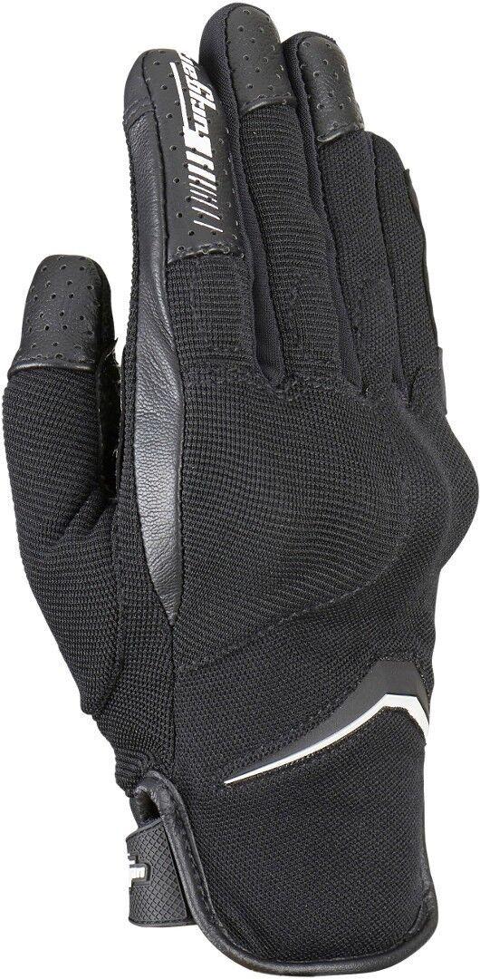 Furygan Oksi D3O Moottoripyörän käsineet  - Musta Valkoinen - Size: 3XL