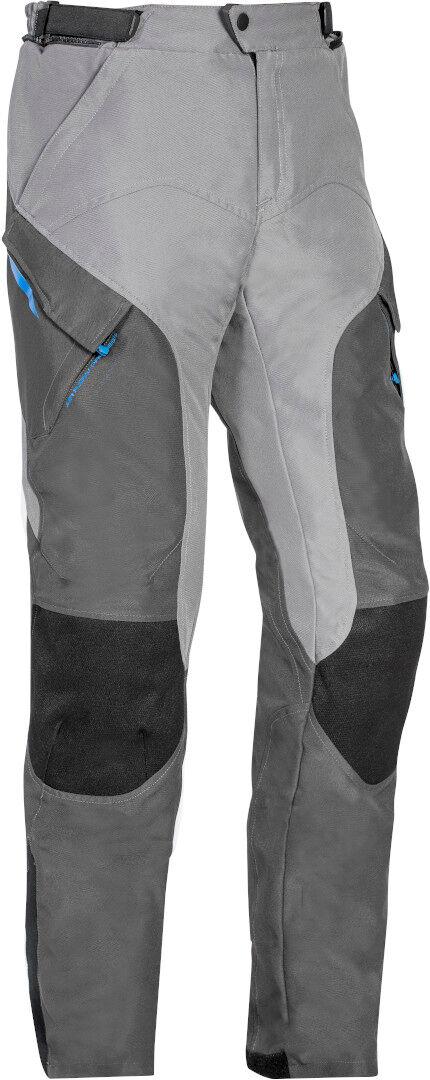 Ixon Crosstour 2 PT Moottoripyörä tekstiili housut  - Harmaa - Size: L