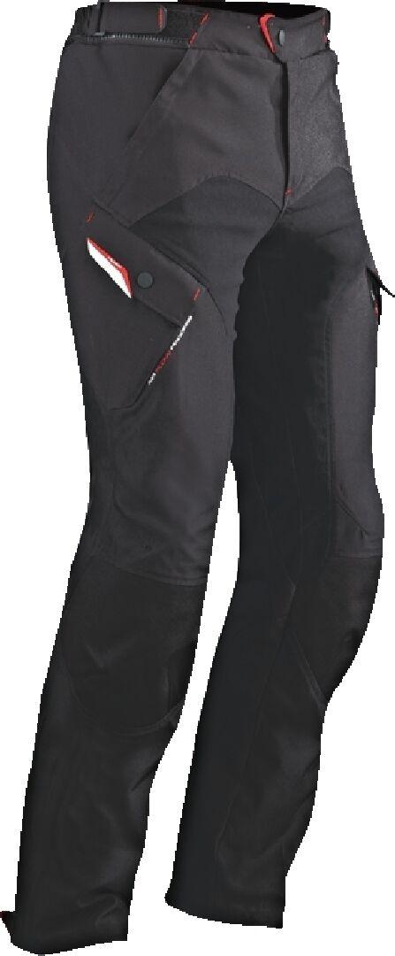 Ixon Crosstour 2 PT Moottoripyörä tekstiili housut  - Musta - Size: 2XL