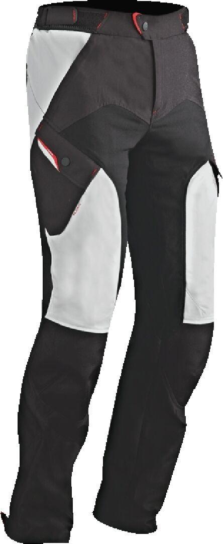 Ixon Crosstour 2 PT Moottoripyörä tekstiili housut  - Musta Keltainen - Size: 2XL