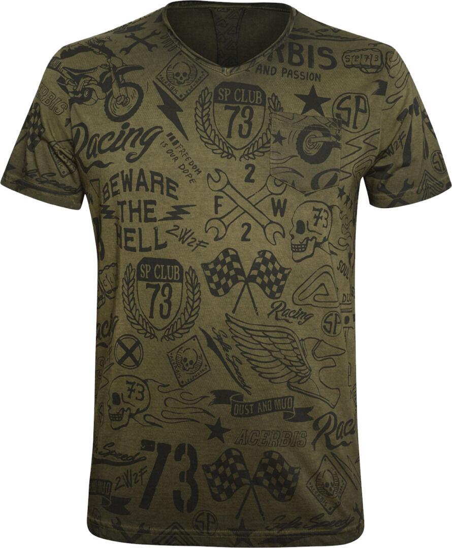 Acerbis V Street SP Club T-paita  - Size: S