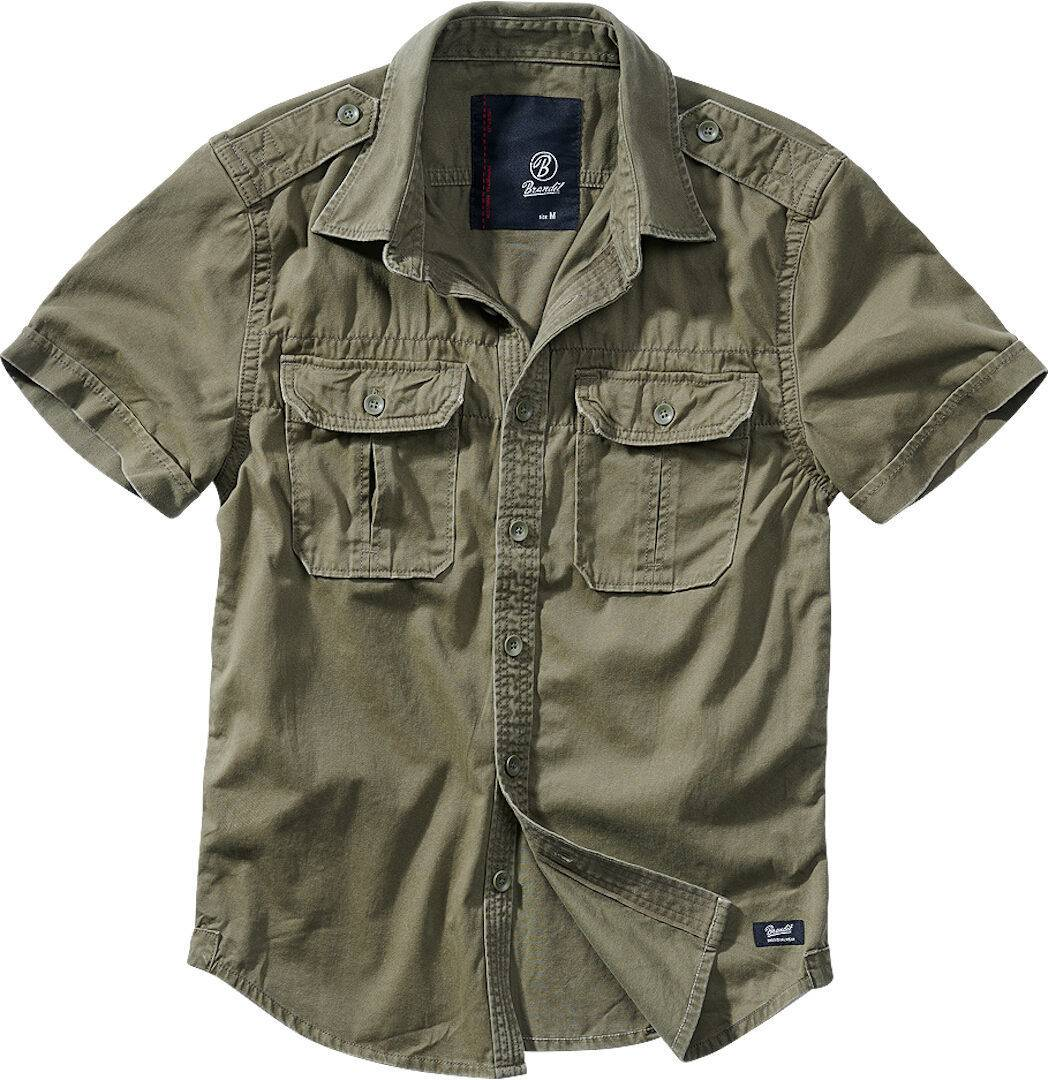Brandit Vintage Paita  - Vihreä - Size: L